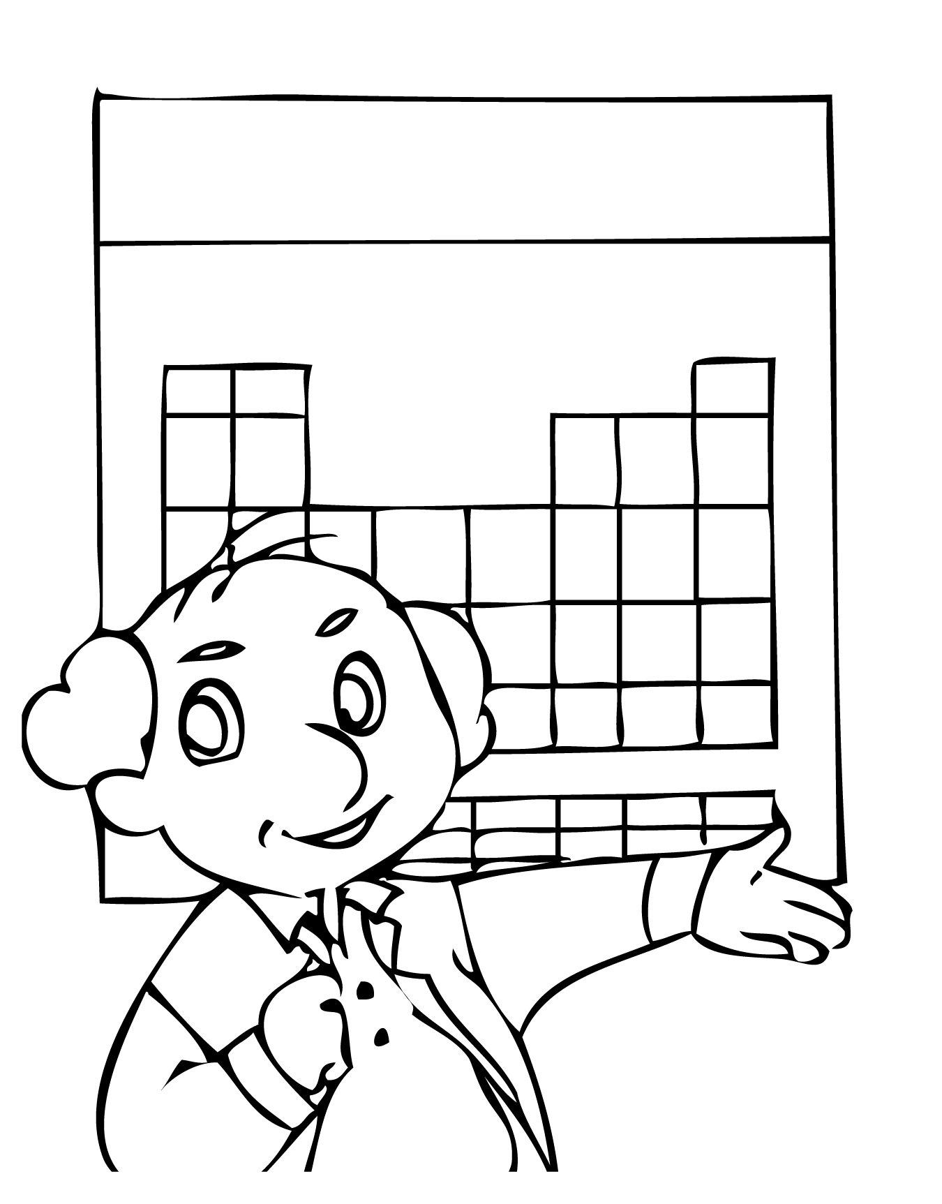 Periodic Table Coloring Page At Getcolorings