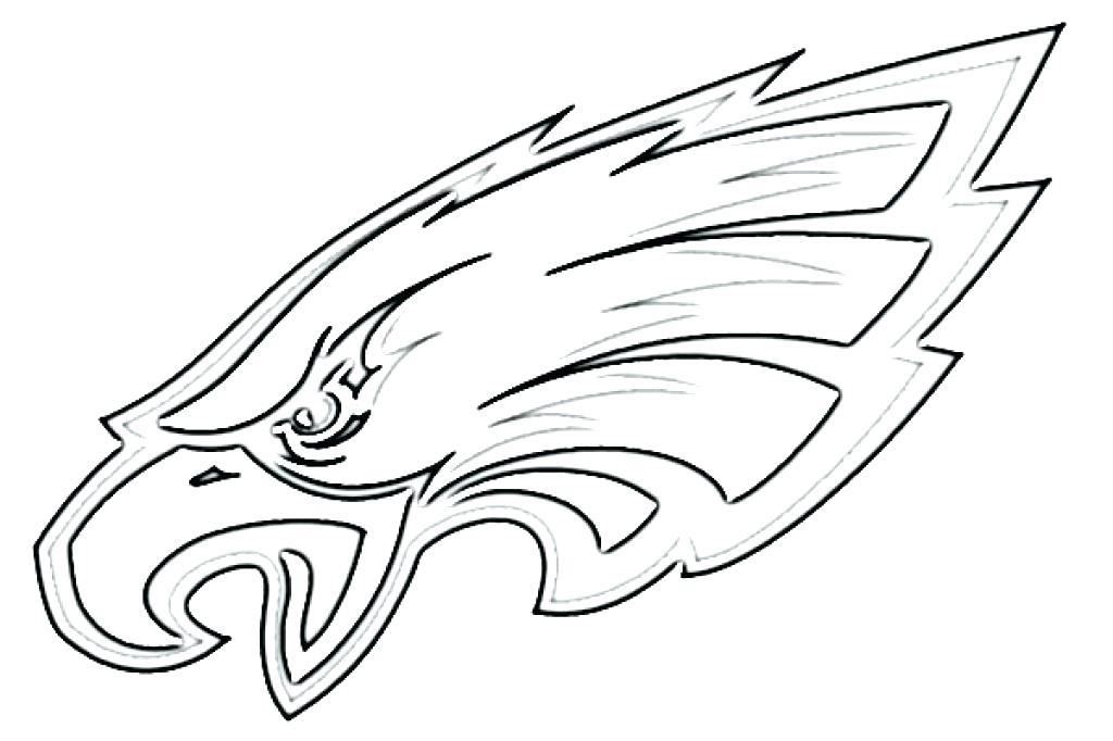 Philadelphia Eagles Coloring Pages Printable at