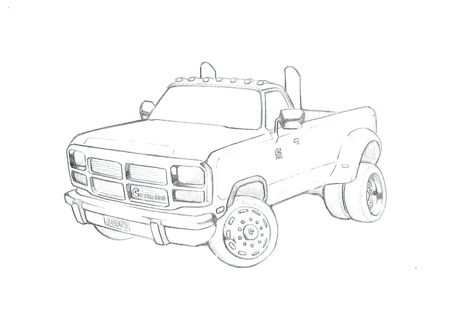 Pickup Truck Coloring Pages Printable at GetColorings.com