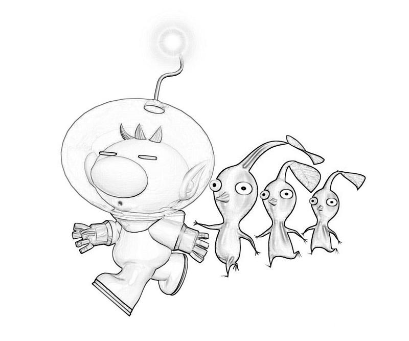 Pikmin 3 Funny Characters