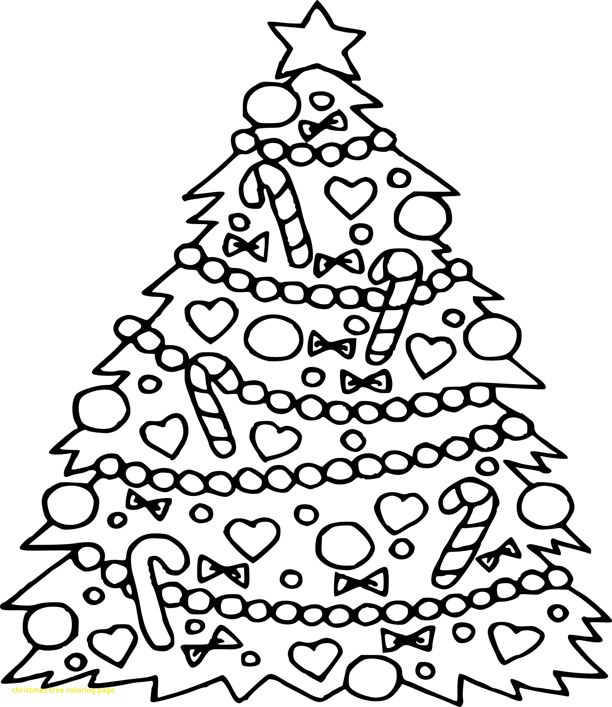 Pine Tree Coloring Page At Getcolorings