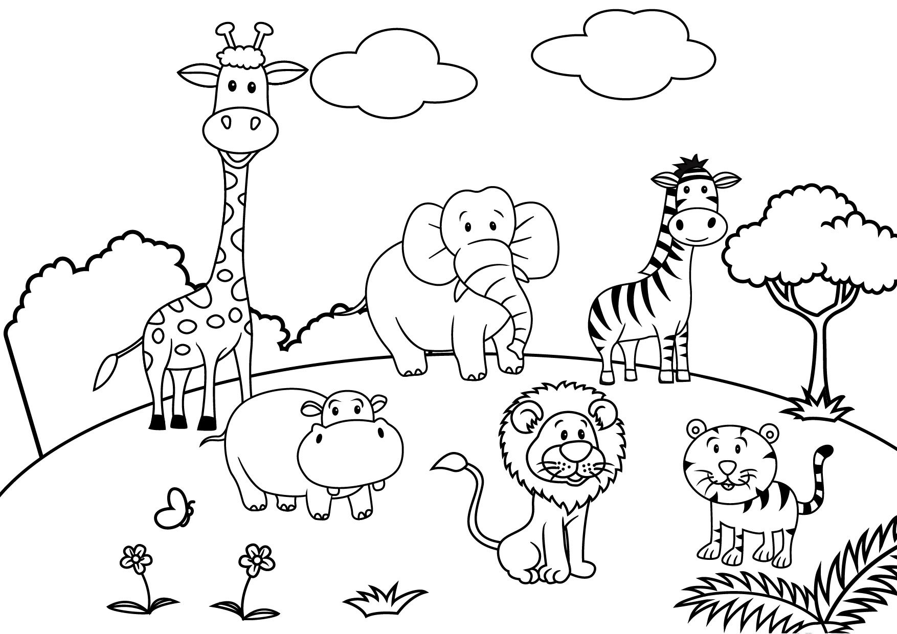 Playground Equipment Coloring Pages at GetColorings.com