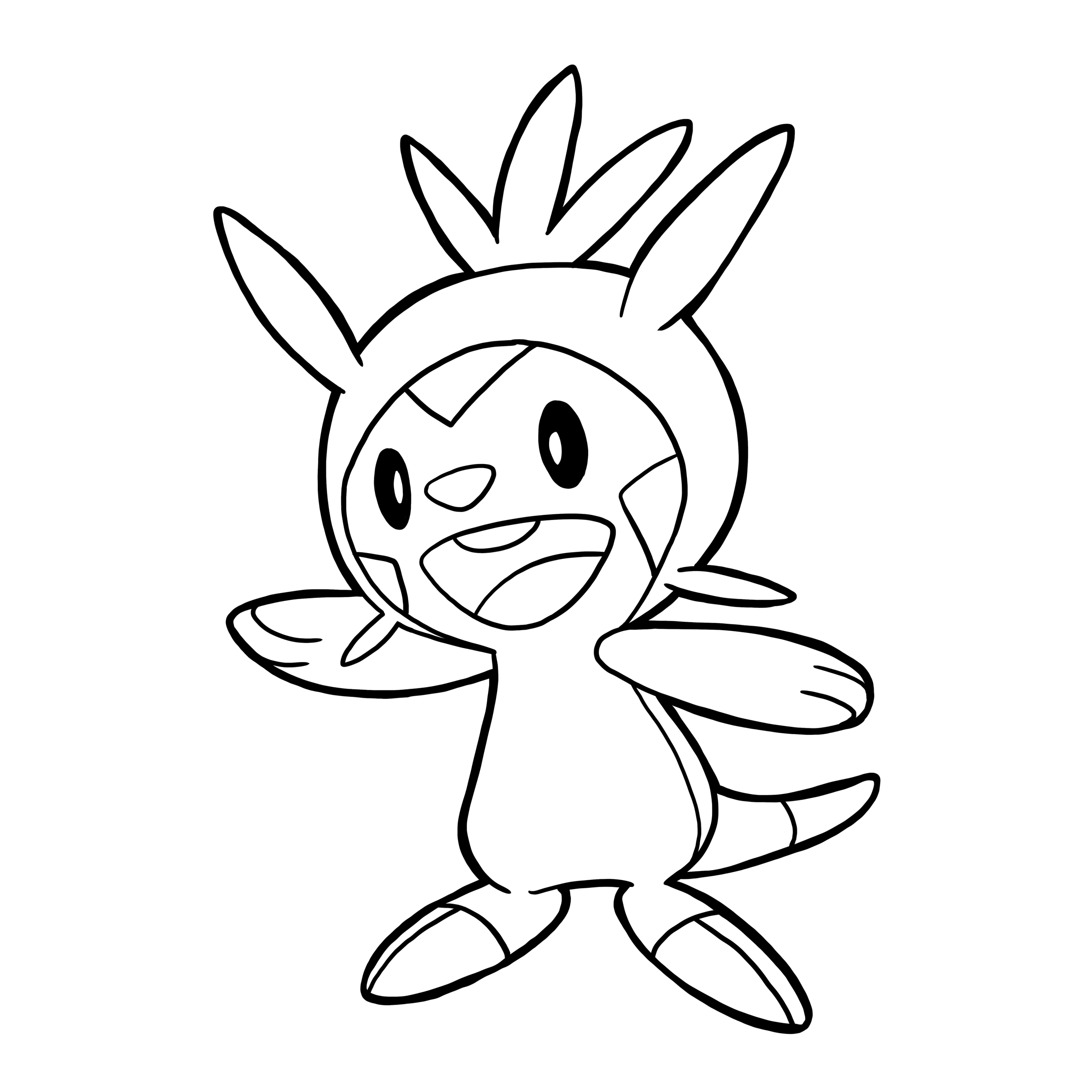 Amazing Froakie Evolution Outline By Thestaplerator On