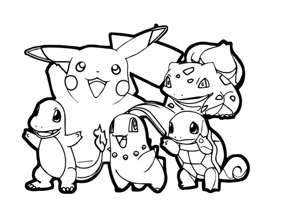Printable Pokemon Go Coloring Pages Novocom Top