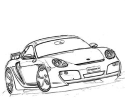 Porsche 911 Coloring Pages at GetColorings.com   Free ...