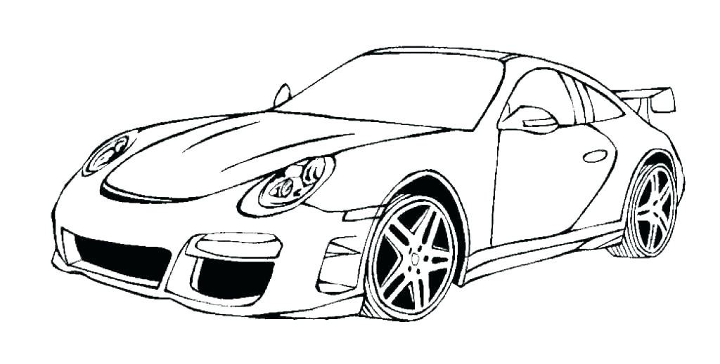 Porsche 911 Coloring Pages at GetColorings Free