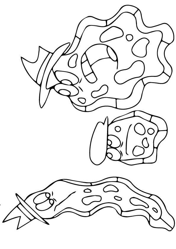 Amoebas Coloring Pages