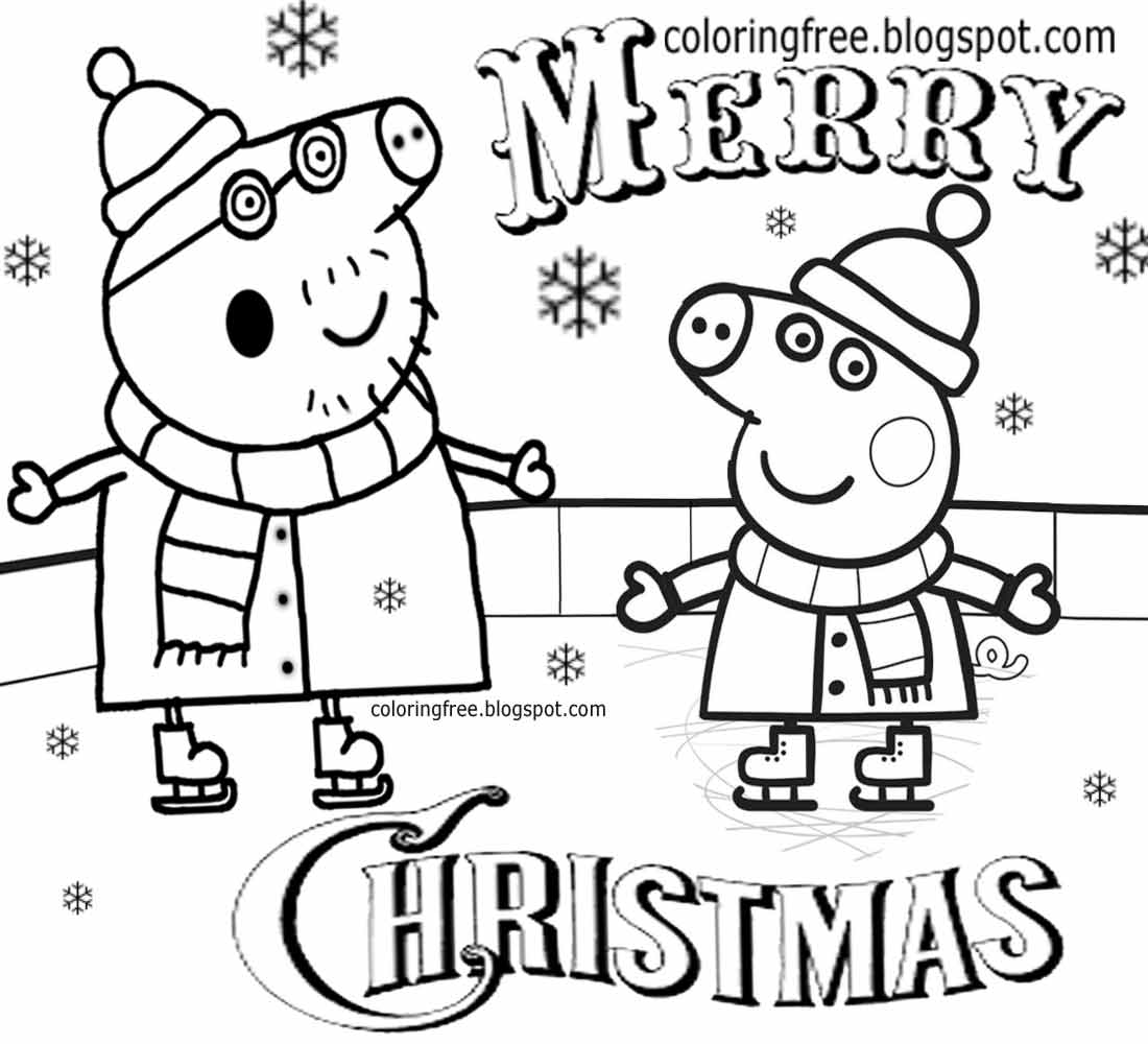 Pre K Christmas Coloring Pages At Getcolorings