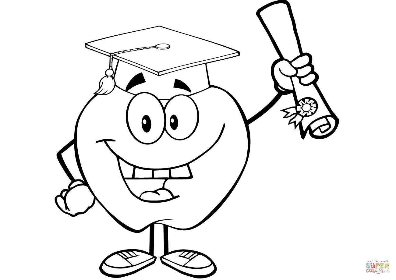 Preschool Graduation Coloring Pages at GetColorings.com