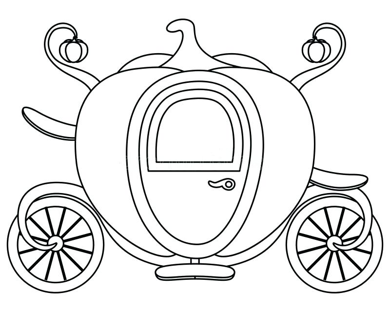 Princess Carriage Coloring Pages at GetColorings.com