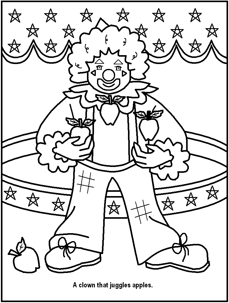 Circus Ringmaster Coloring Pages at GetColorings.com