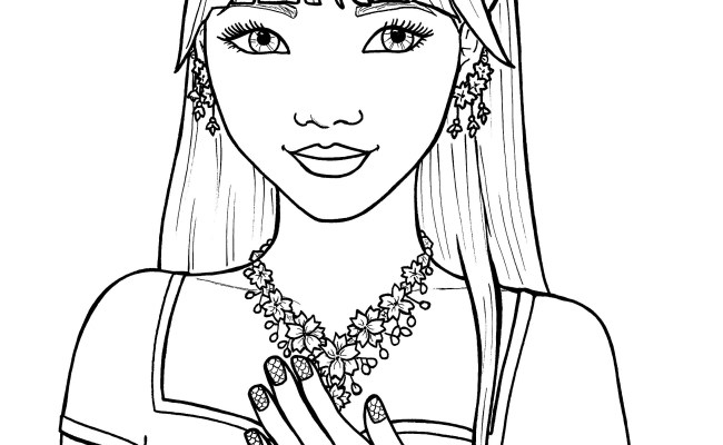 Printable Coloring Pages For Girls At Getcolorings