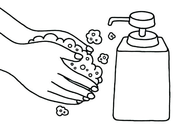 printable hand washing coloring pages at getcolorings