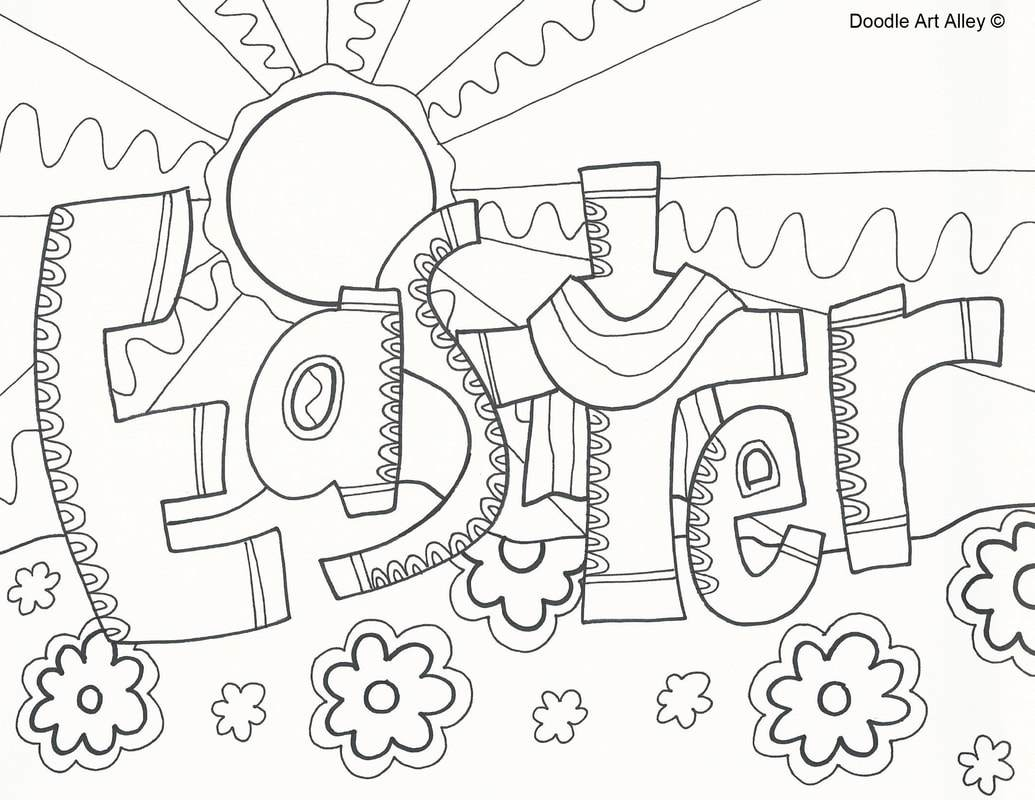 Printable Religious Easter Coloring Pages At Getcolorings