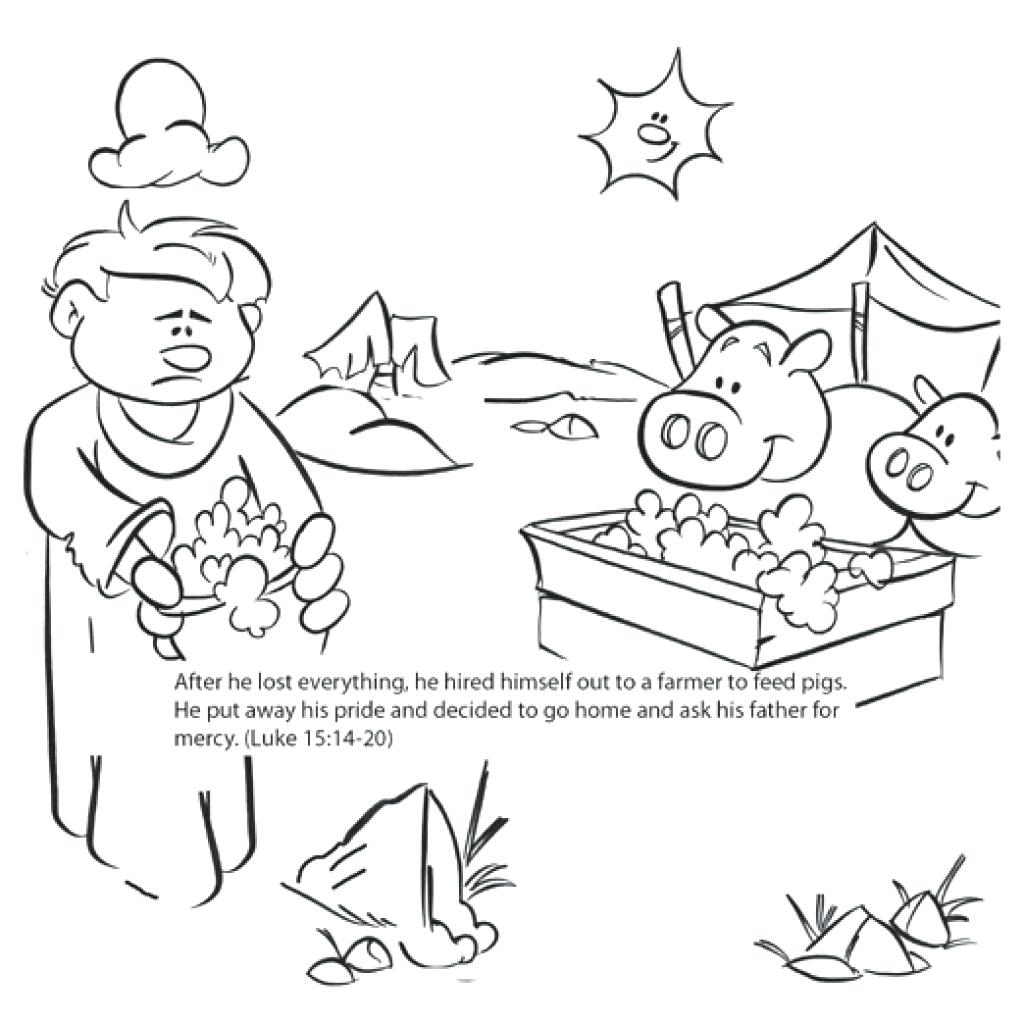 Prodigal Son Coloring Page At Getcolorings