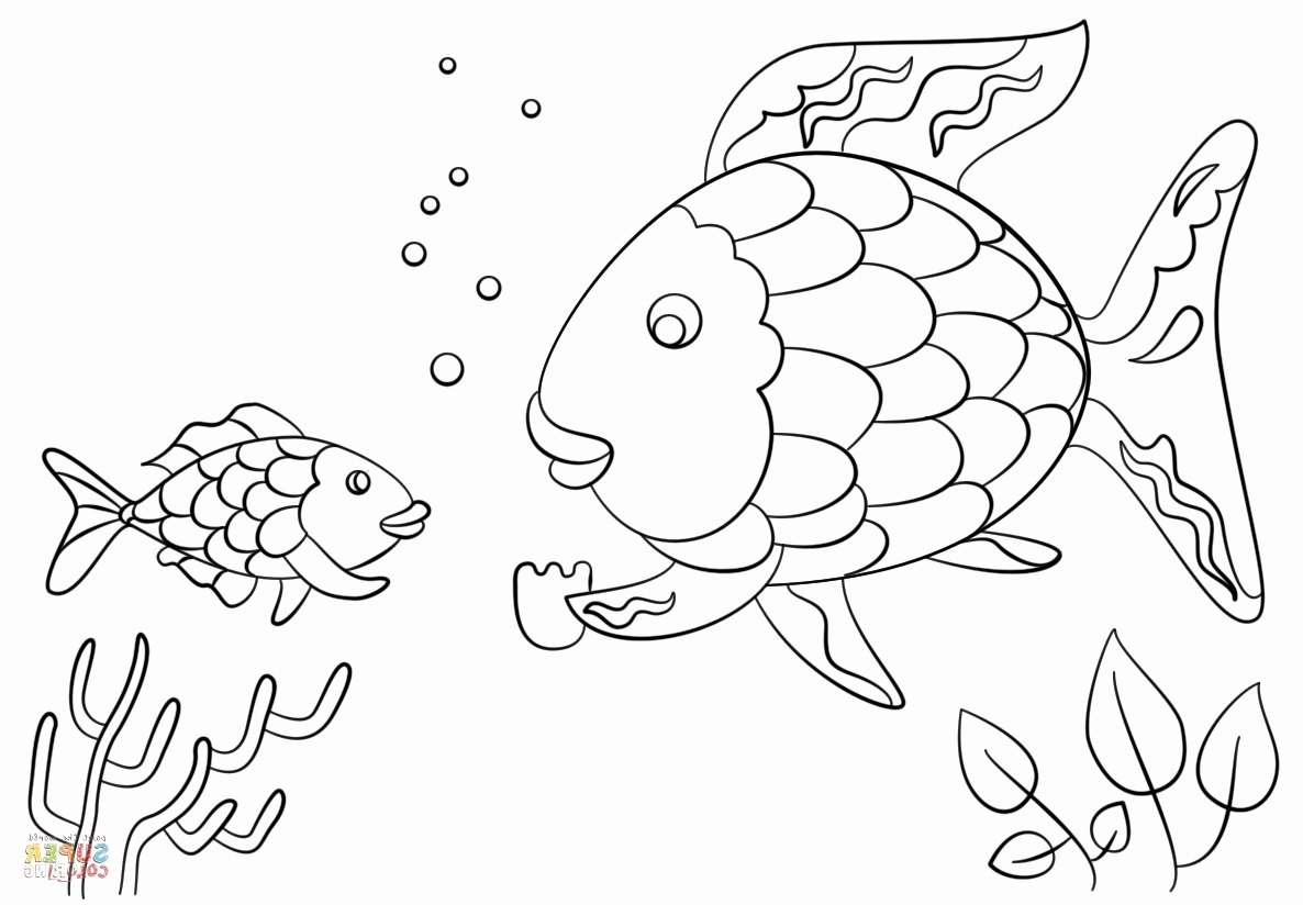 Rainbow Fish Coloring Page at GetColorings Free