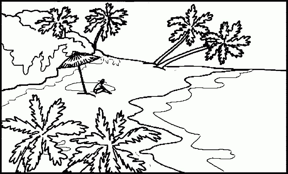 Realistic Landscape Coloring Pages at GetColorings.com