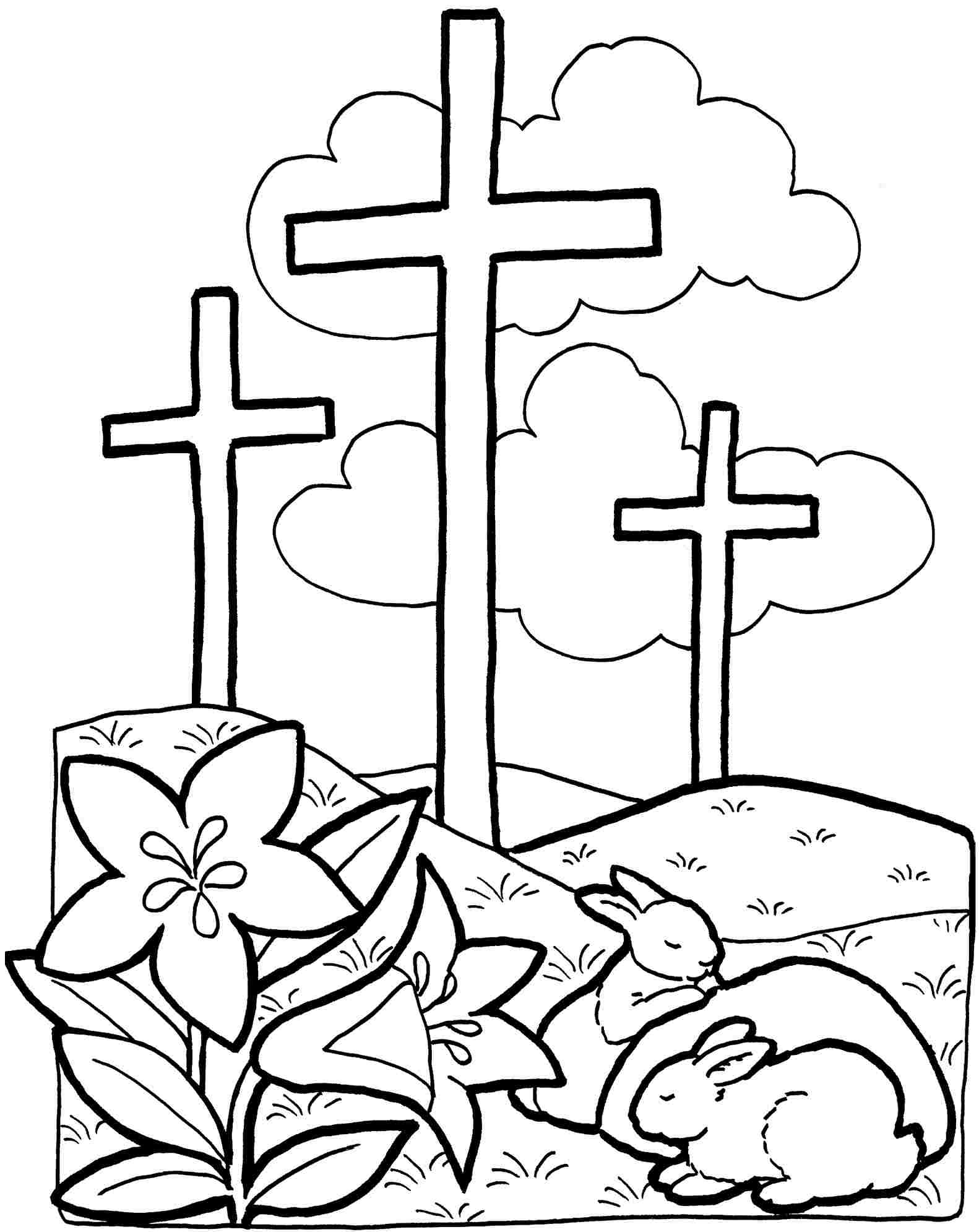 Religious Coloring Pages At Getcolorings