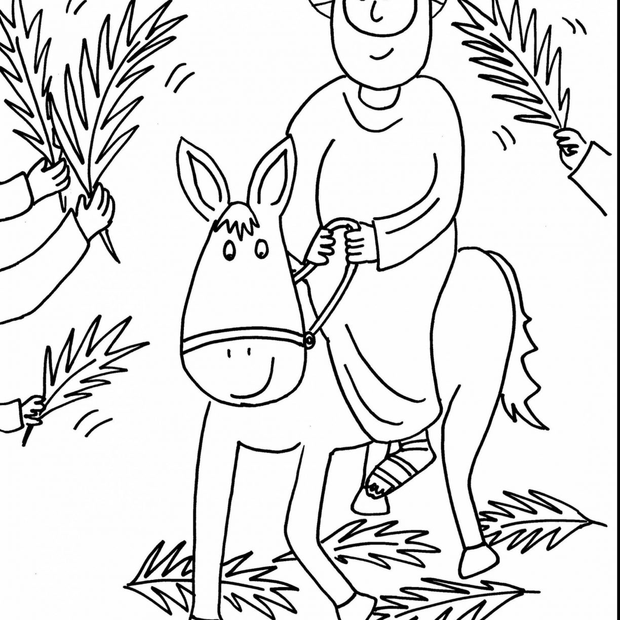 Religious Easter Coloring Pages For Preschoolers At