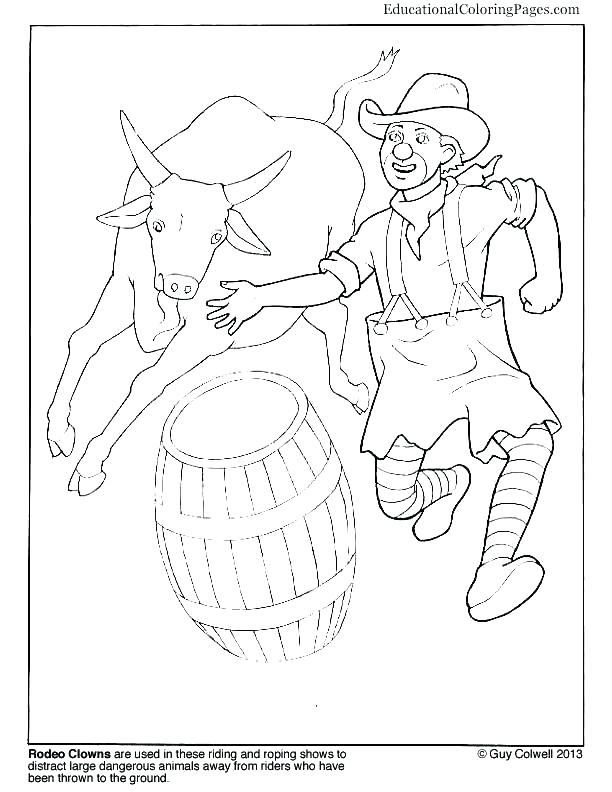 rodeo coloring pages at getcolorings  free printable