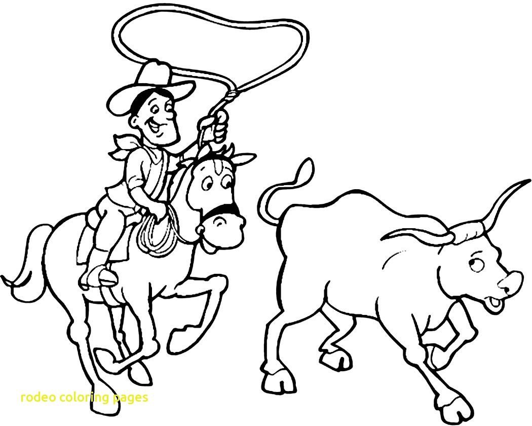 Rodeo Coloring Pages At Getcolorings