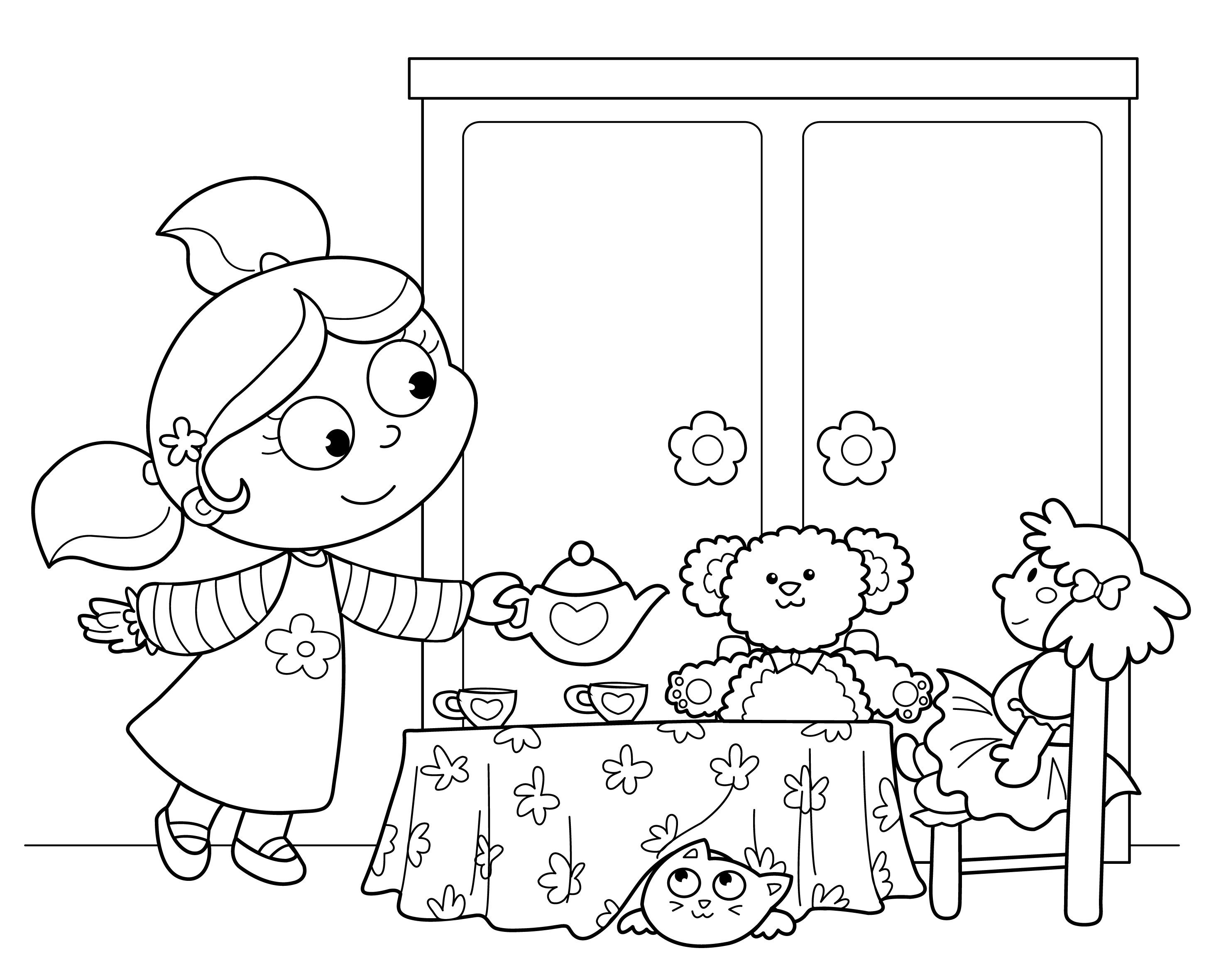 Ruler Coloring Page At Getcolorings