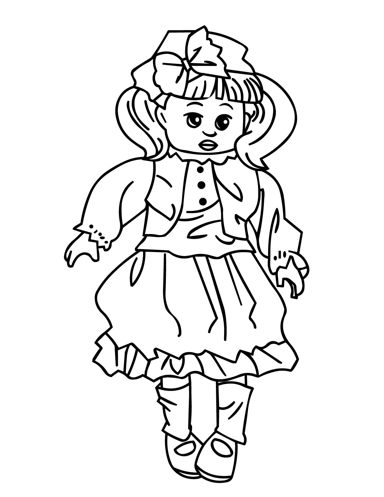 Russian Nesting Dolls Coloring Pages At Getcolorings