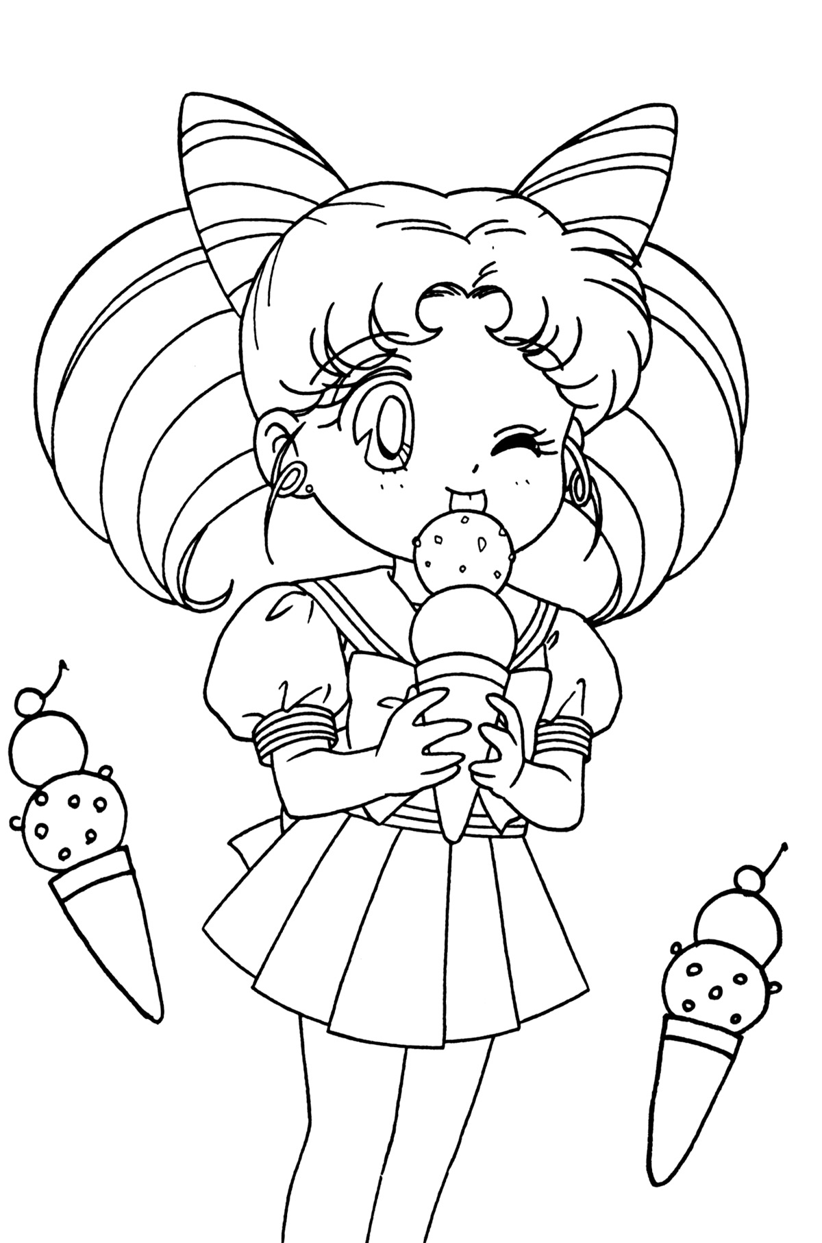 Sailor Moon Coloring Pages At Getcolorings