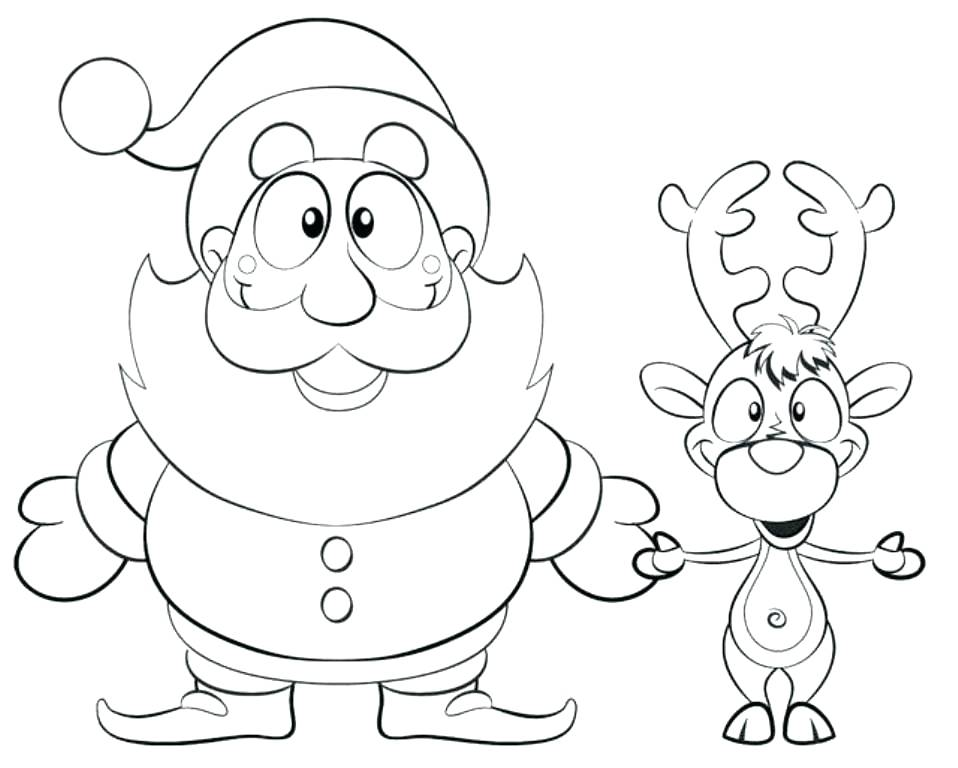 Santas Workshop Coloring Page at GetColorings.com | Free printable colorings pages to print and color