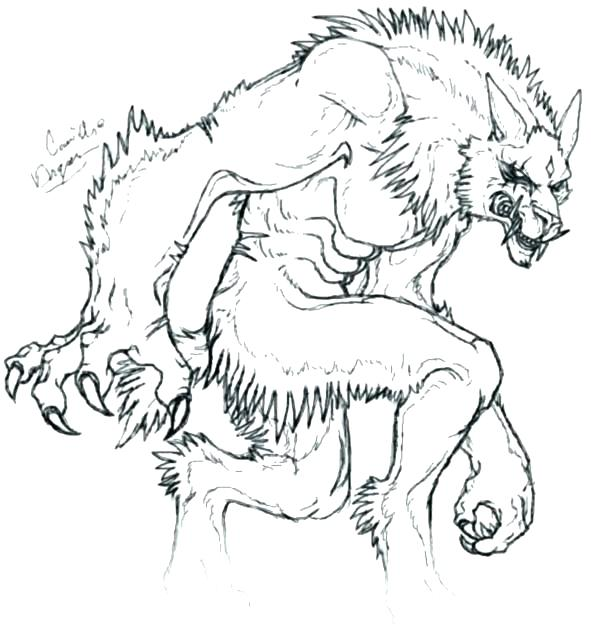 scary wolf coloring pages at getcolorings  free