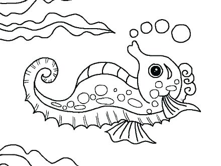 Sea Life Coloring Pages For Preschool at GetColorings.com