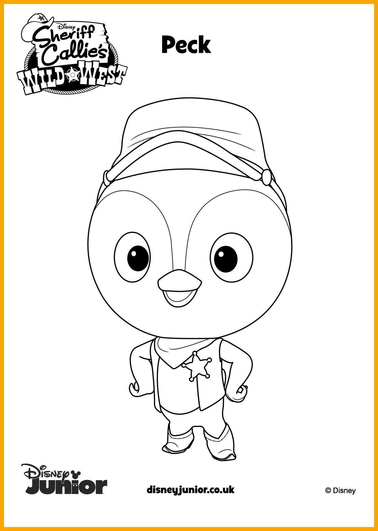Sheriff Callie Coloring Pages At Getcolorings