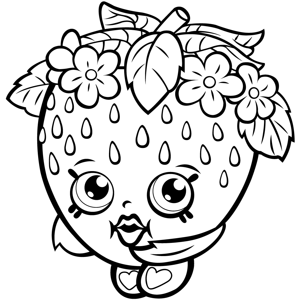 Shopkins Printable Coloring Pages At Getcolorings