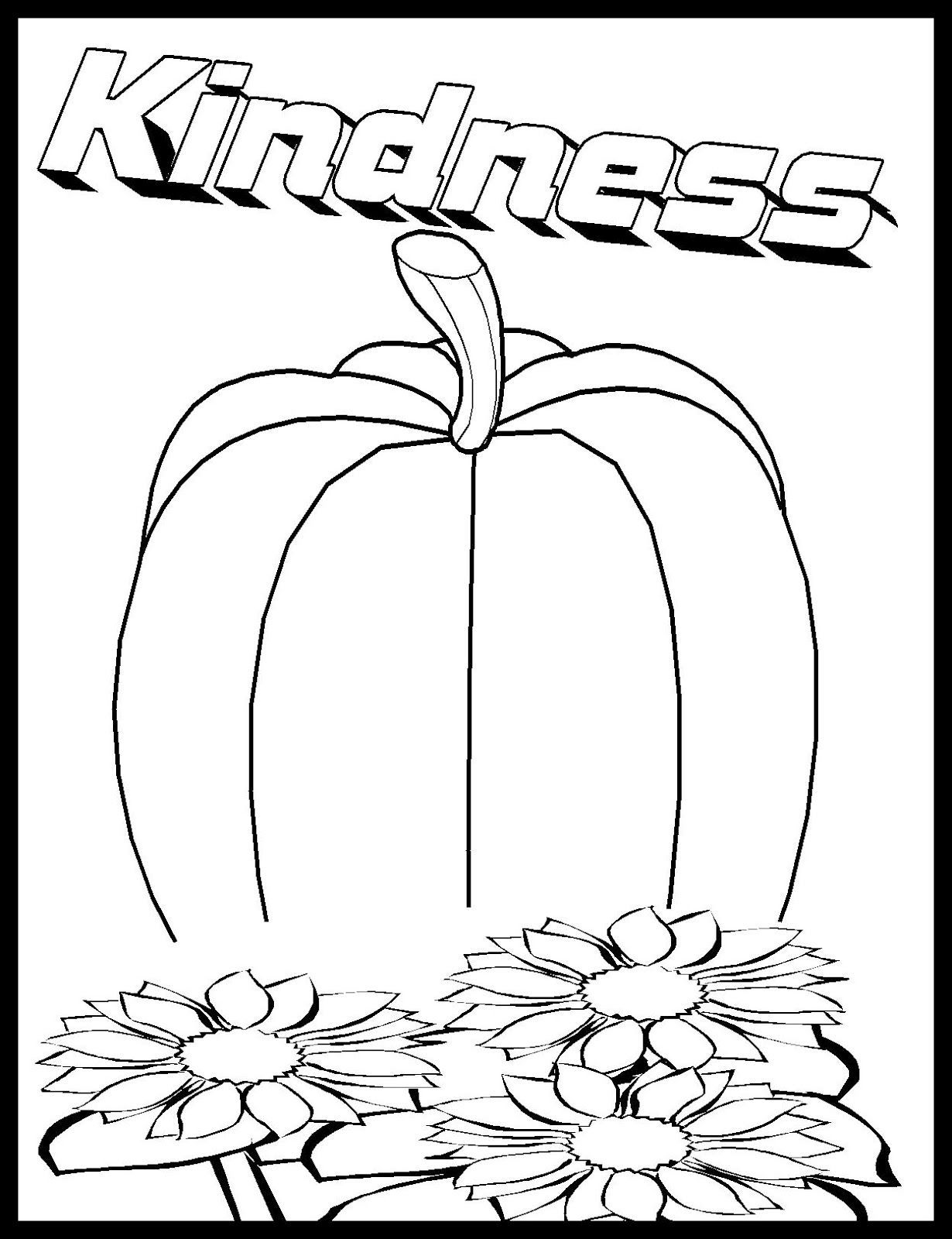 Showing Kindness Coloring Pages At Getcolorings