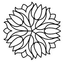 Mosaic Patterns Coloring Pages at GetColoringscom Free
