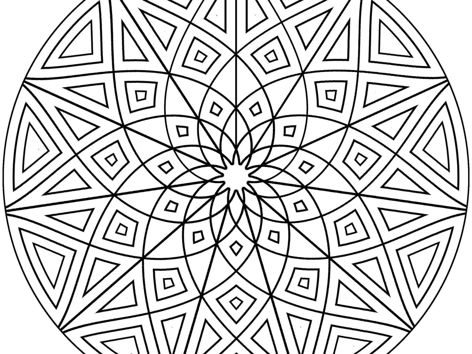Simple Pattern Coloring Pages At Getcolorings