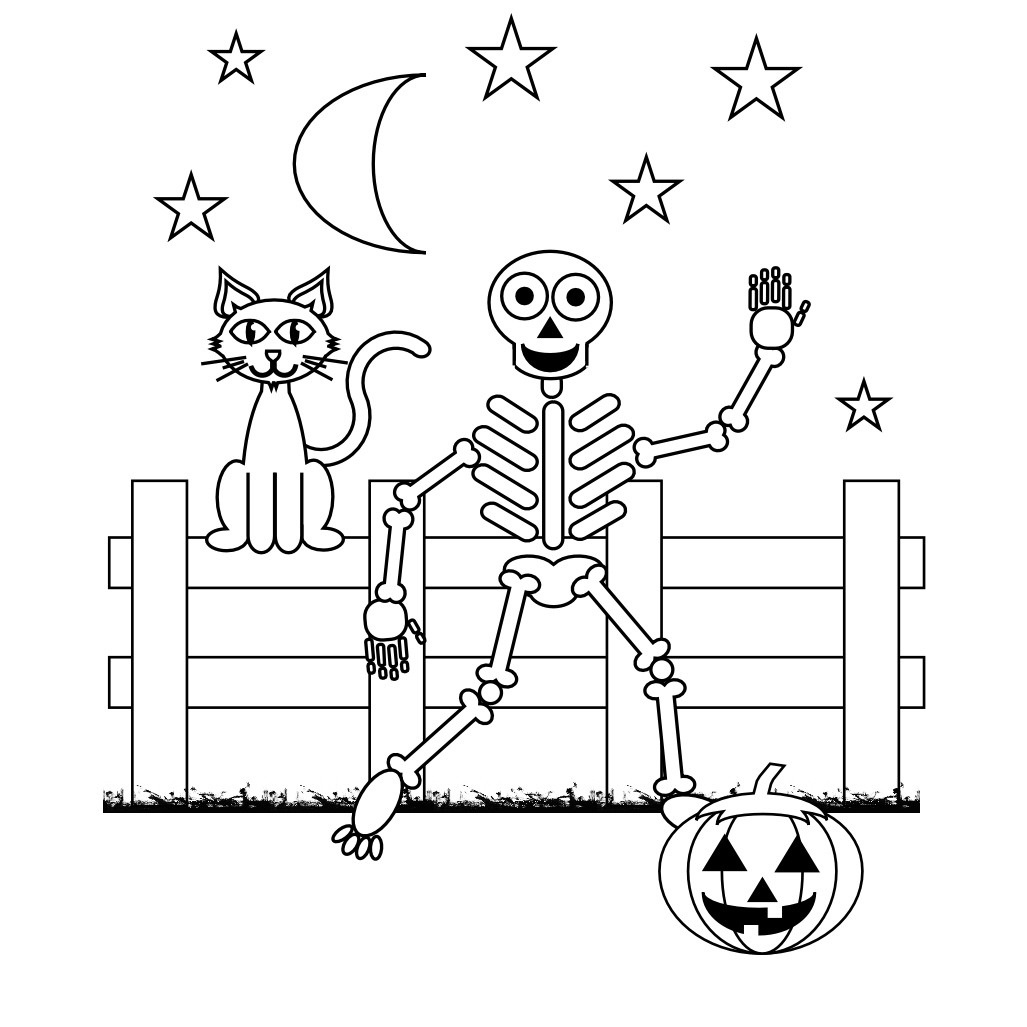 Skeleton Key Coloring Page At Getcolorings