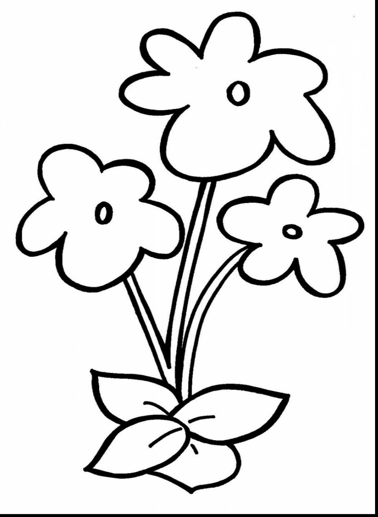 Small Flower Coloring Pages At Getcolorings
