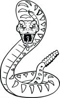 Snake Coloring Pages For Kids at GetColorings.com   Free ...
