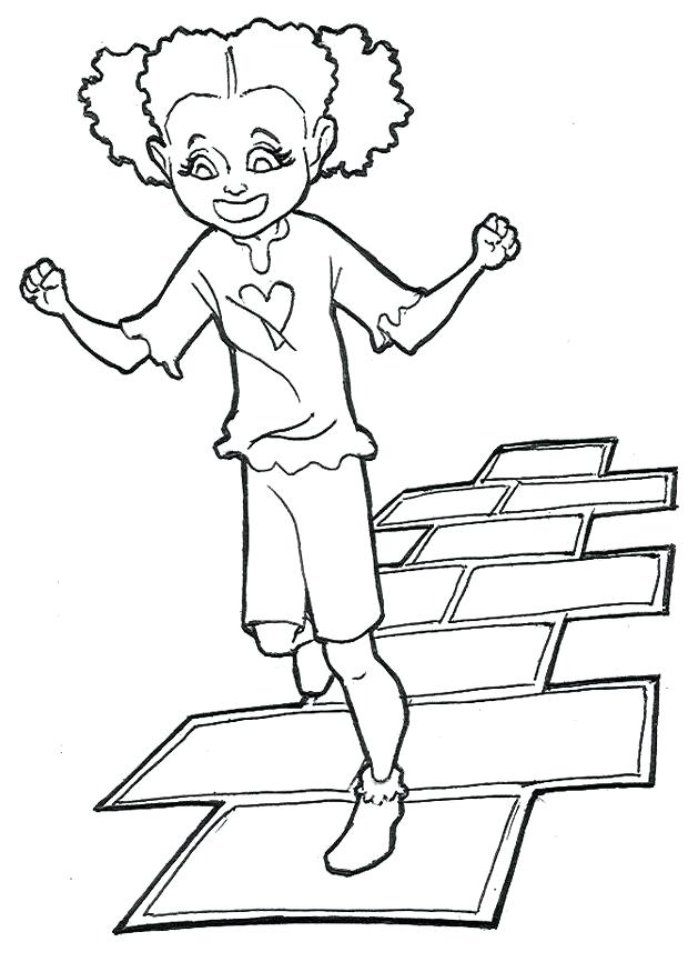 hip hop harry coloring pages sketch coloring page