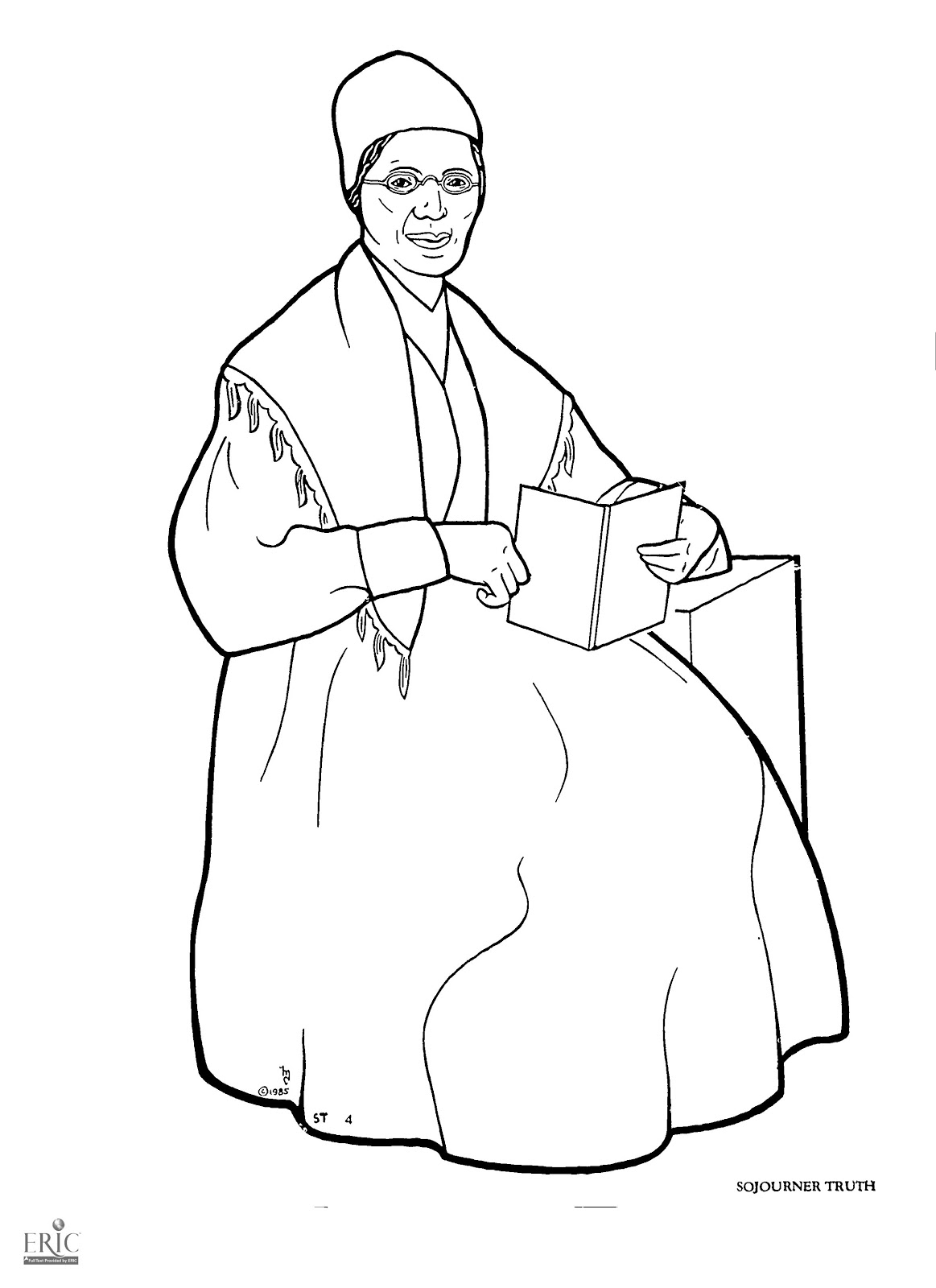 Sojourner Truth Coloring Page At Getcolorings