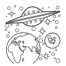 Free Printable Solar System Coloring Pages at GetColorings