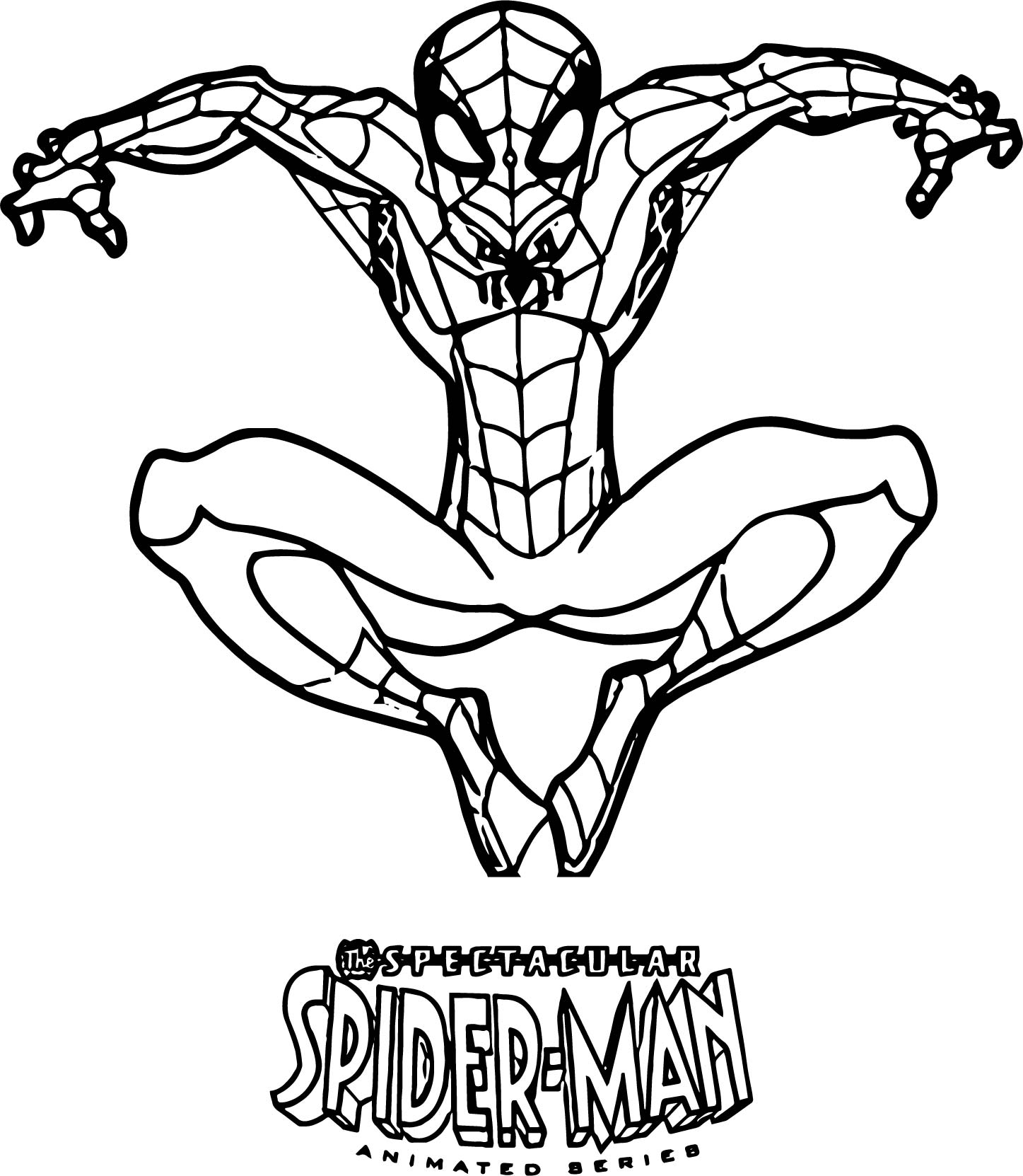 Spiderman Black Suit Coloring Pages At Getcolorings