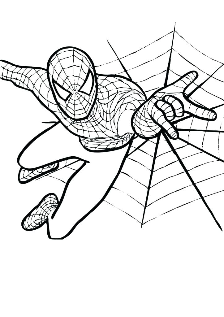 Spiderman Cartoon Coloring Pages at GetColorings.com