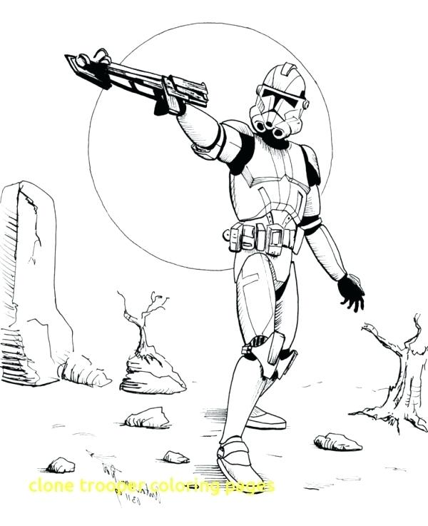 Star Wars Clone Trooper Coloring Pages at GetColorings.com