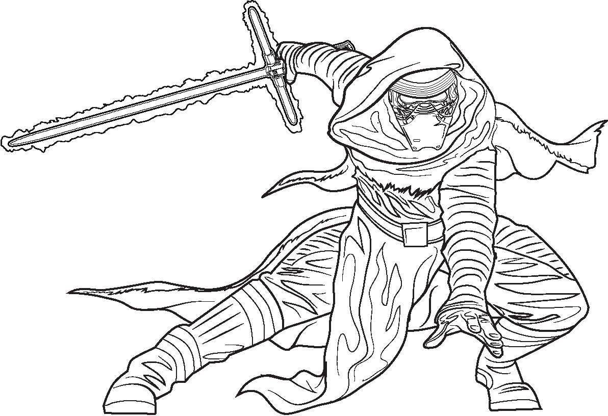 Star Wars Jedi Coloring Pages At Getcolorings