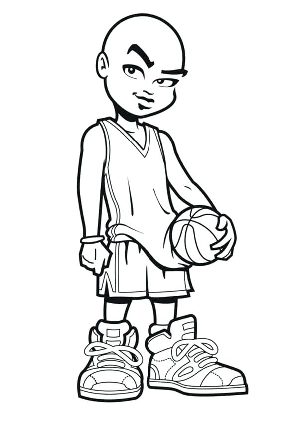 Stephen Curry Basketball Player Coloring Pages Sketch