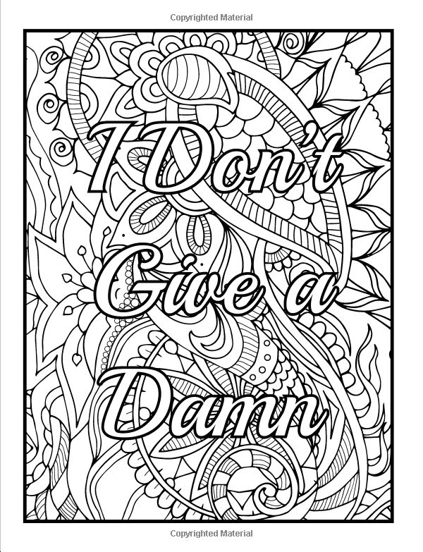 Easy Stress Relief Coloring Pages For Adults - Novocom.top