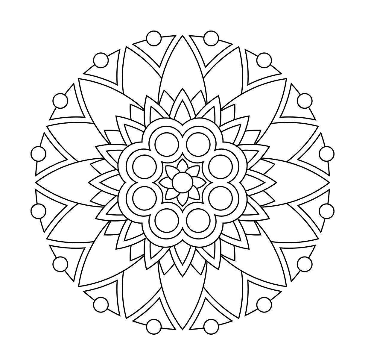 Stress Relieving Coloring Pages Printable At Getcolorings