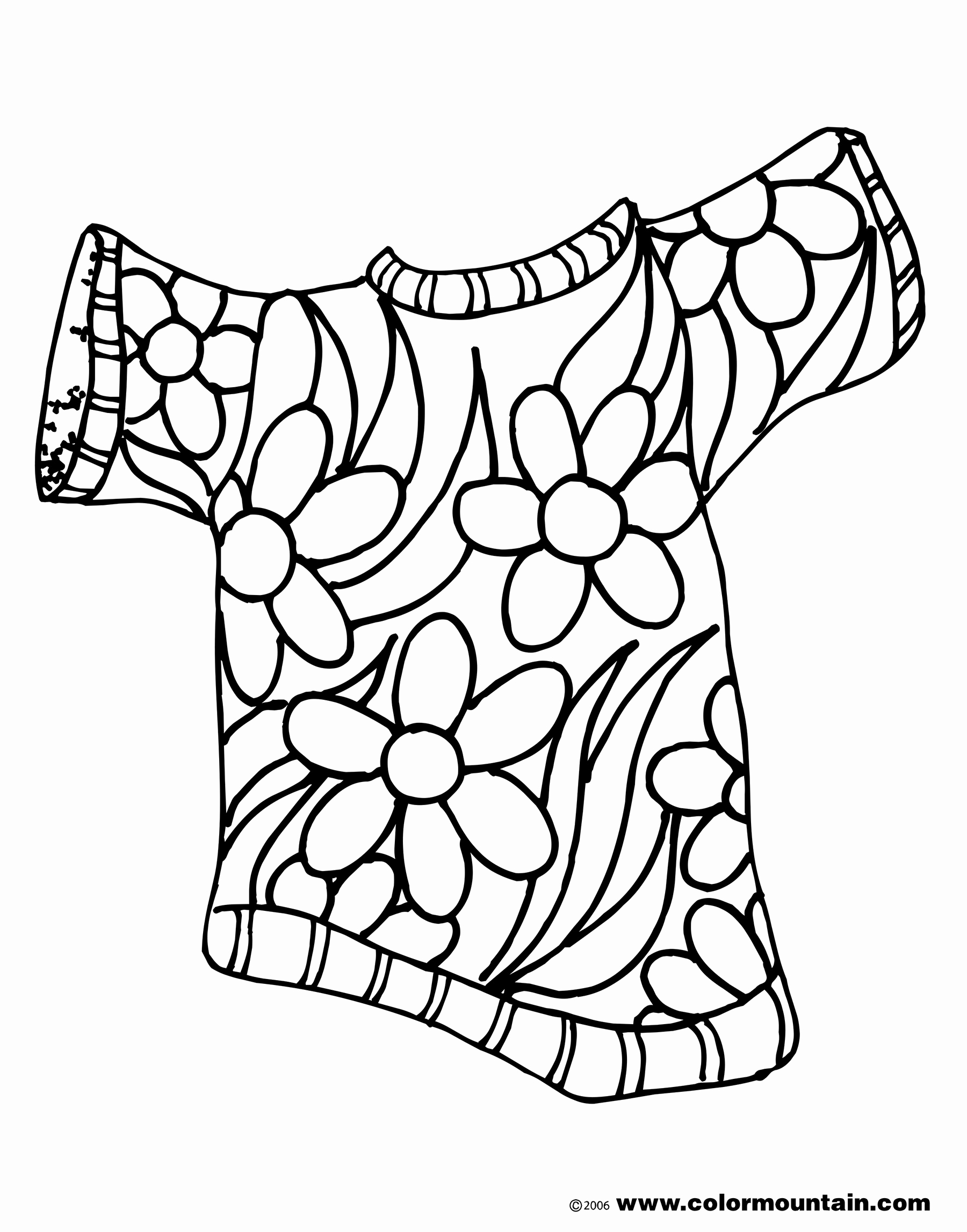 Summer Flowers Coloring Pages At Getcolorings